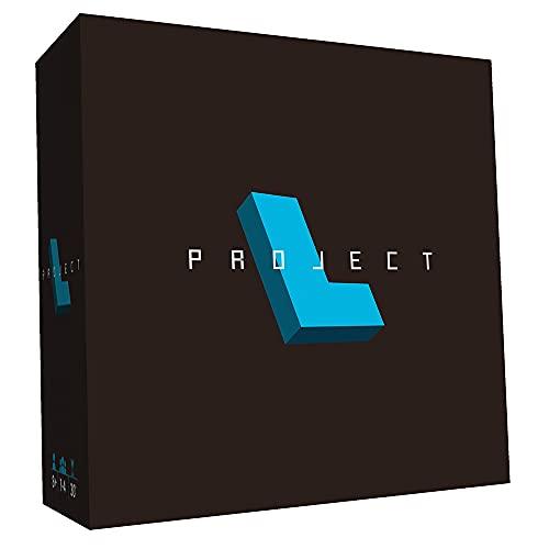 ホビージャパン プロジェクトL 多言語版 (1-4人用 30分 8才以上向け) ボードゲーム