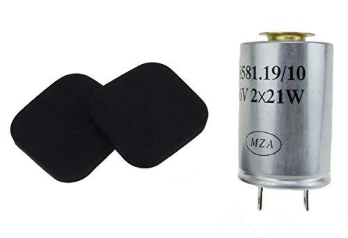 MZA Meyer-Zweiradtechnik 10059 Blinkgeber 6 V 2X 21 W - 8581.19/40 - S51, S70