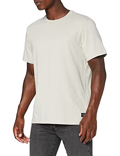 Dockers Icon tee Camiseta, Algodón Moonstruck, L para Hombre
