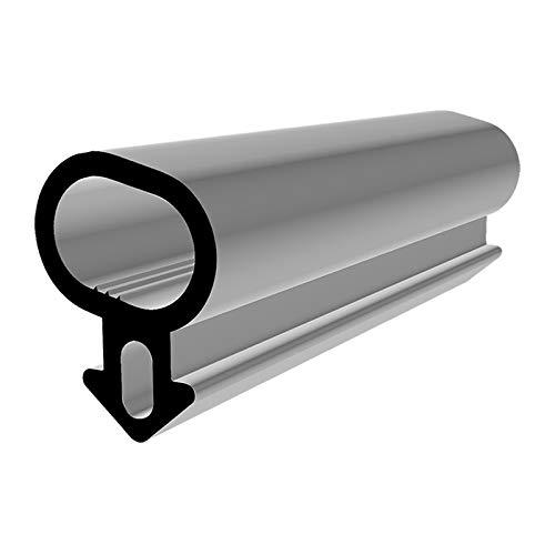 Fensterdichtung S-232 schwarz 5m Gummidichtung Tür Balkon Dichtungsband Oberlicht Scheibe Luftzugstopper