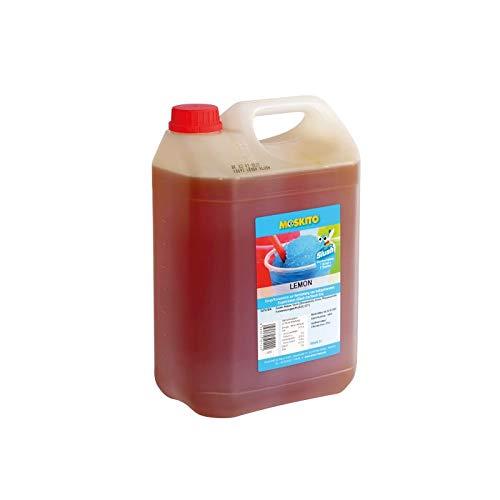 Sirup Slush Konzentrat Slush Ice / Slush AZO FREI Eis Lemon Zitrone 5 Liter Ergibt 30 Liter Slush