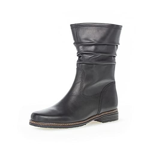 Gabor Damen Klassische Stiefeletten, Frauen Kurzstiefel,Wechselfußbett,Best Fitting,Ladies,Boots,Stiefel,Bootee,Booties,schwarz,39 EU / 6 UK