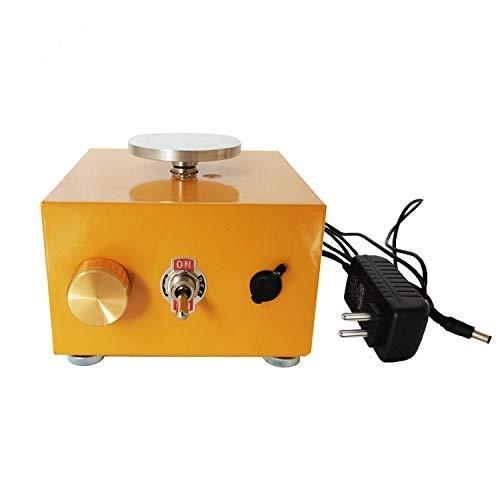 KKmoon Máquina de Cerámica DIY Craft con USB,Mini Torno de Alfarería,Rueda de...
