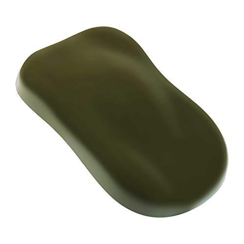 Olive Drab Green - Hot Rod Flatz by Custom Shop Urethane Automotive Flat Matte Car Paint, 1 Quart Kit
