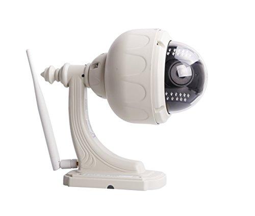 Foscam FI8919W IP Security Camera Esterno Cuscinetto: Bianco–Telecamera di sorveglianza (IP Security Camera, esterno, Cuscinetto, colore: bianco, 640x 480pixel, MPEG)