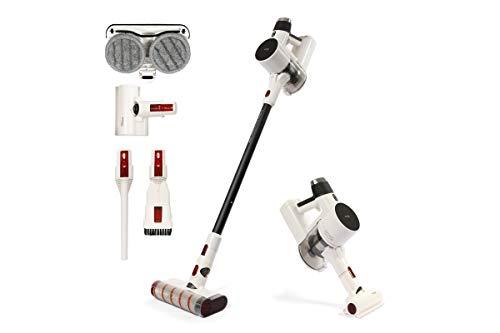 Lineatielle - Aspirapolvere senza fili con sistema di lavaggio – Speedy Cleaner - Senza Sacco - Wireless - Filtro HEPA