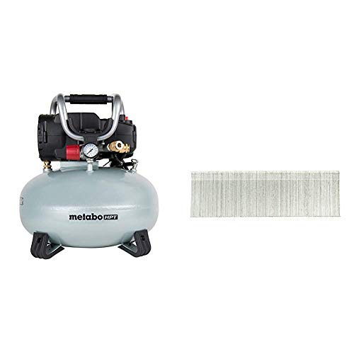 Metabo Pancake Air Compressor With Brad Nails