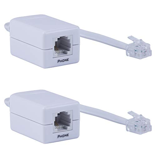 Power Gear DSL Phone Line Filter, 2 Pack, 46086