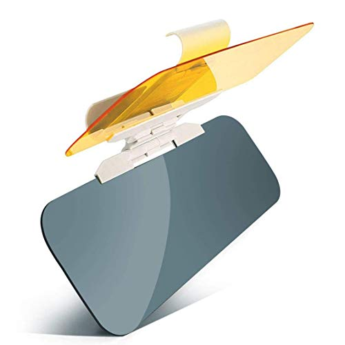 Image of Car Sun Visor Clip Sunshade Goggles Cover UV Protection Sun Sheild for Cars, Durable Anti Glare, Anti-Dazzle, Clip-on Auto Car Sunshade