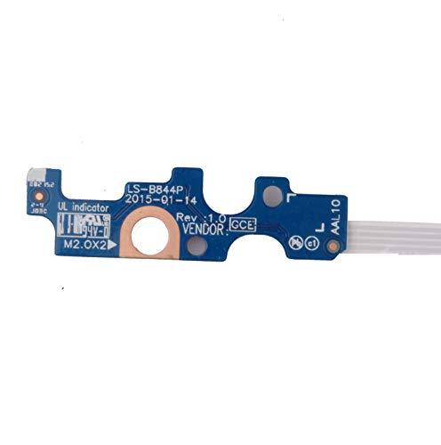 """Substituição de placa de interruptor de botão elétrico Dosens com cabo para Dell Inspiron 14-5458 15-5566 15 5000 Series 3558 5551 555 558 5559 Vostro 14"""" 3458 094MFG 94MFG CN-094MFG LG LG S-B8444P"""