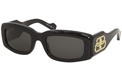 Balenciaga gafas de sol BB0071S 001 Negro gris tamaño de 54 mm de Mujer