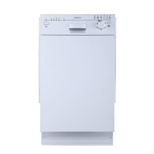 """EdgeStar 18"""" Built-In Dishwasher - White"""