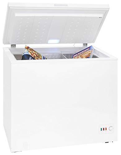 Exquisit Gefriertruhe A+++ 200 Liter Innenbeleuchtung Alarmfunktion