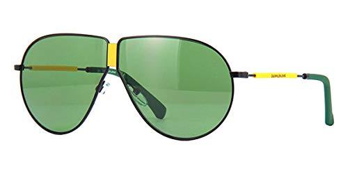 Calvin Klein Jeans CKJ19102S - Gafas de Sol de Metal Mate, Unisex, para Adulto, Multicolor, estándar