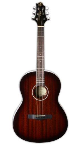 Greg Bennett Design Gold rush ST91 BS 39-Inch Folk Acoustic Guitar, Brown sunburst