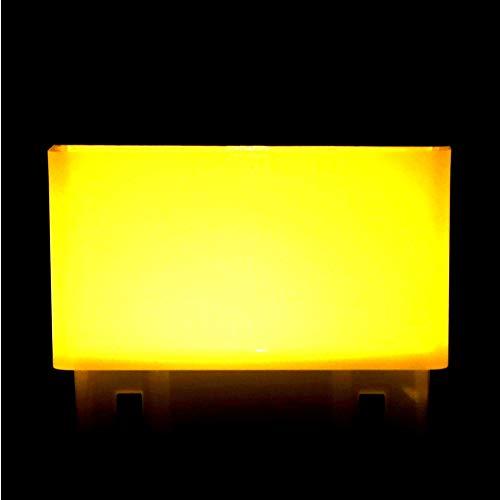 SUCIE Luz LED de energía Solar, lámpara de Camino de Concha Blanca con Resistente a la Intemperie para Valla para jardín