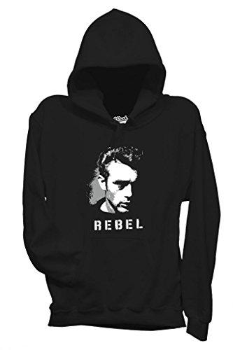 Sweatshirt James Deen Rebel - Fameux By Mush Dress Your Style - Homme-L-Noir