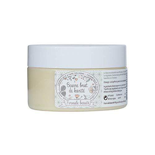 Beurre de karité 100% bio et naturel - Formule beauté - 100ml