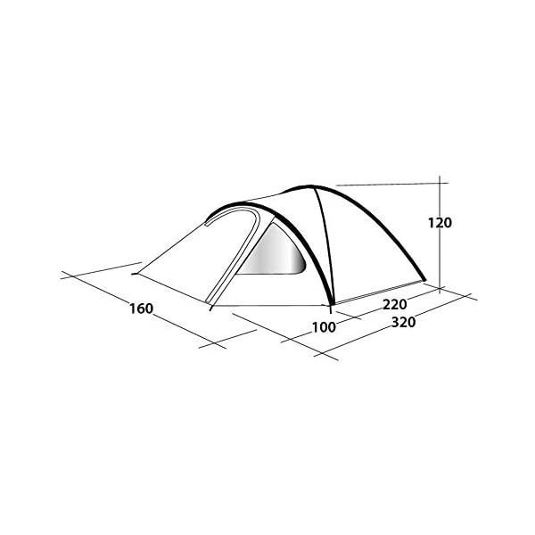Outwell Cloud Pole Tent