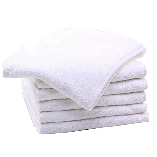 6 Stück Bambus-Mikrofaser-Einlagen für Erwachsene, Stoffwindeln für Inkontinenz-Pflege, 4-lagig, waschbar, wiederverwendbar, saugfähig (6)