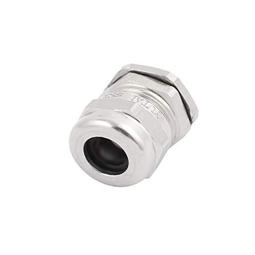 New Lon0167 M18x1.5mm Metal Destacados Impermeable Cable Glándulas eficacia confiable Juntas Conector para 6-10mm Dia Wire(id:ff6 c5 03 1a0)