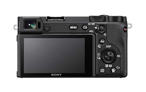 Sony Alpha 6600   APS-C Spiegellose Kamera (Schneller 0,02s Autofokus, optische 5-Achsen-Bildstabilisierung im Gehäuse) & Tele-Zoom Objektiv (70-350 mm, F4.5-6.3, OSS, APS-C) schwarz