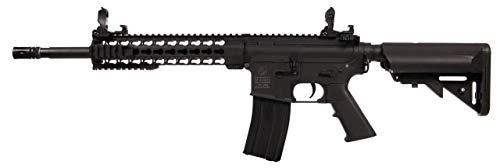 Colt Airsoft M4 Special Force AEG 180861 Cybergun Nylon Keymod/Nylon Fiber/Colore Nero/Elettrico (0,5 Joule) -Semi/Full Automatic