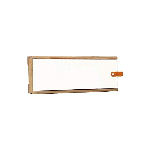 TT&D opbergdoos voor router met bewegende planken, verdeeldoos voor wandcontactdoos van massief hout, zonder gaatjes (afmetingen: 30 x 11 cm) 45x11cm Gtxqop171r-2