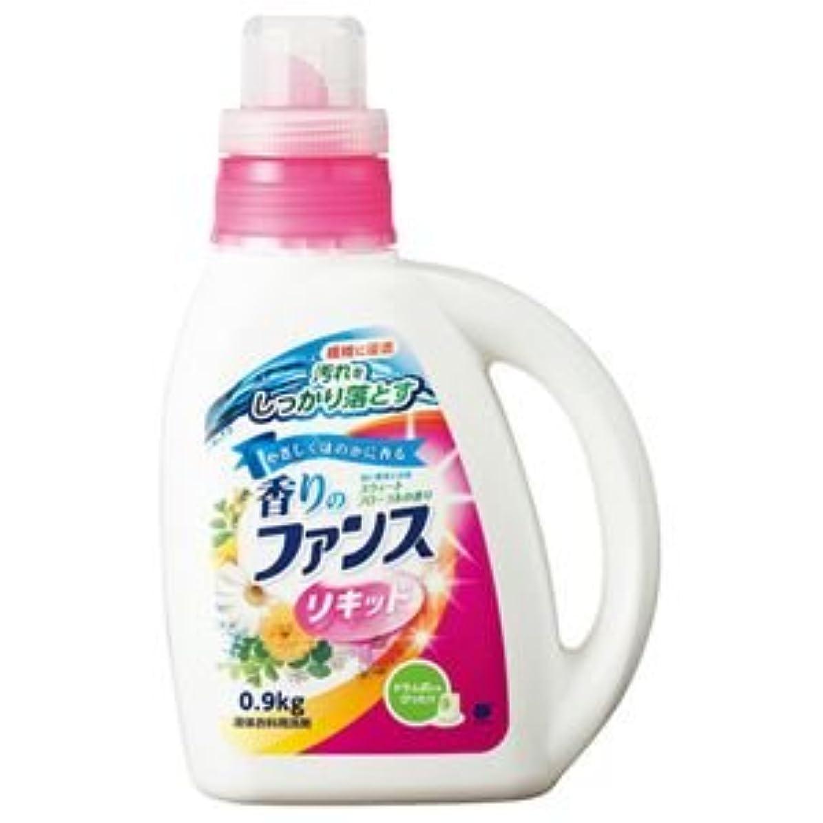 パット弁護士つかむ(まとめ) 第一石鹸 香りのファンス 液体衣料用洗剤リキッド 本体 0.9kg 1本 【×10セット】