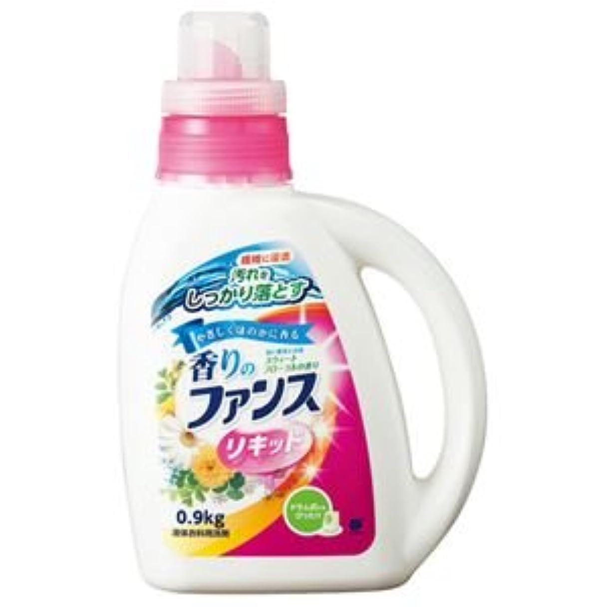 クランプヘリコプターシャーク(まとめ) 第一石鹸 香りのファンス 液体衣料用洗剤リキッド 本体 0.9kg 1本 【×10セット】