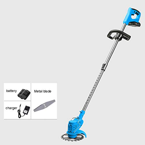 Buy Discount YF-1 Cordless Strimmer Telescopic Lightweight Frame Grass Trimmer with Adjustable Angle...