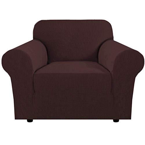 Fundas elásticas para sofá de 1 Plaza para Sala de Estar Fundas para sillones Fundas para sofá y sillas Fundas para Muebles Fundas para sillas, Tela Jacquard su