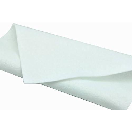 Feutrine 3 mm Polyester 24 x 30 cm Blanc Sodertex