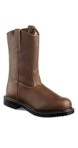 Red Wing Mens Supersole 11inch Pull-On Boot (8.5EE, Brown)
