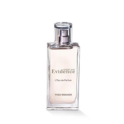 Yves Rocher COMME UNE EVIDENCE Eau de Parfum, blumig grüner Rosenduft mit Chypre-Noten, Valentinstag Geschenkidee für Frauen, 1 x Zerstäuber 50 ml