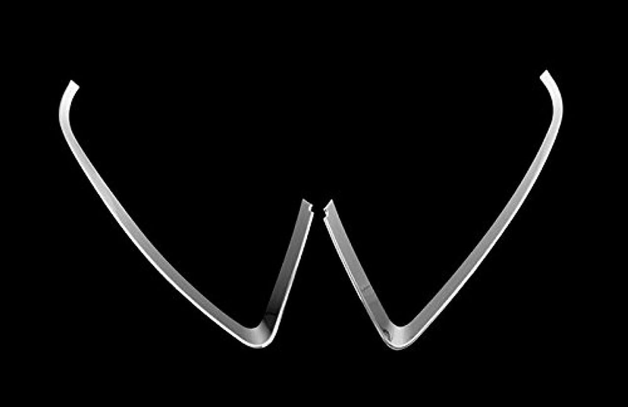 ましいすばらしいですぶら下がるJicorzo - ジープコンパス2011-2015カーエクステリアアクセサリースタイリングのために車のヘッドライト、フロントライトランプまぶたカバートリム2PCSフィット