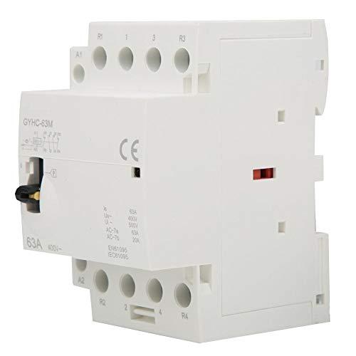 4P 63A 220V 50Hz Contactor de CA doméstico Riel DIN Contactor de...