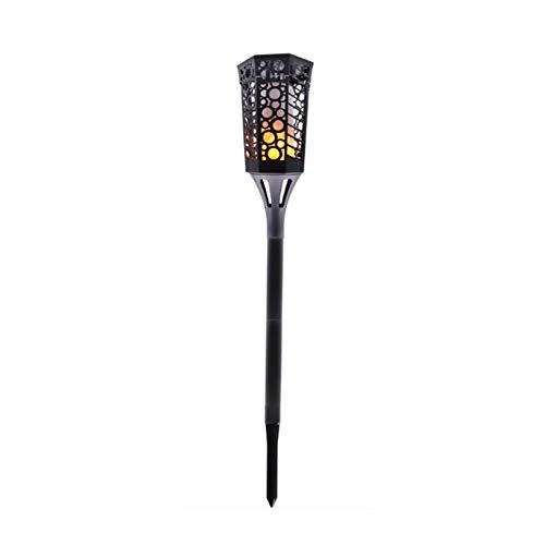 LNNL 99 LED Solar Flame Lichter Im Freien, Licht Für Weihnachtsdekoration, Solar Wandleuchte Für Haustür, Terrasse, Garage, Zaun, Flur, Deck