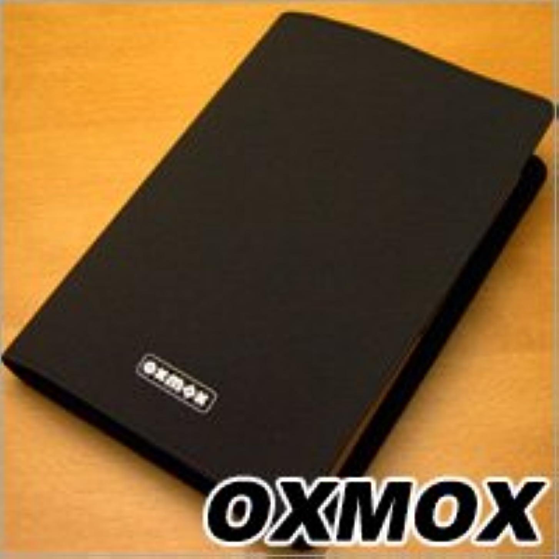 音楽を聴くディスパッチ恨みOXMOX(オックスモックス) BLACK ペンホルダー付きブックカバー