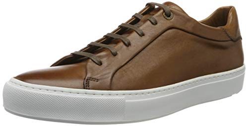 LLOYD Herren AJAN Sneaker, Braun (Cognac 3), 45 EU