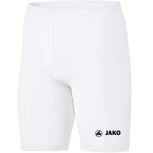 JAKO Kinder Tight Basic 2.0, Weiß, 164