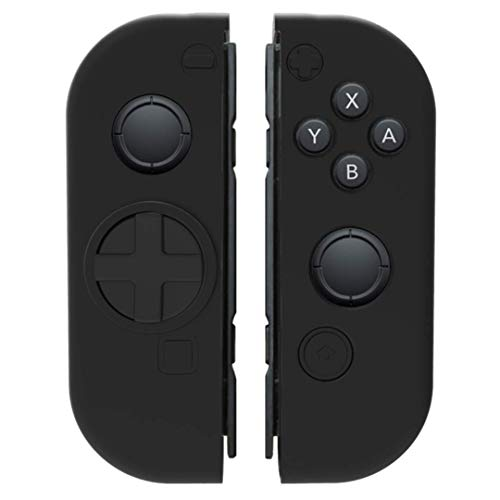 Collective Minds D-Grip Directional Pad & Silicone Cover- Black - Nintendo Switch