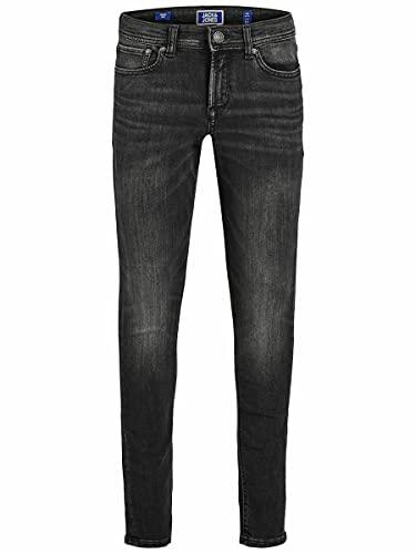 Jack & Jones Jjiliam Jjoriginal Am 830 Jr Noos Jeans, Noir (Black Denim Black Denim), 164 Garçon