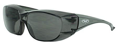 Global Vision Eyewear Oversite Série Lunettes de sécurité, Smoke