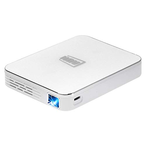 AUN MINI Projector X3, Android/IOS Phone Screen Mirroring, Multimedia system Video 3D Beamer, Portable for 1080P Home Cinema , White