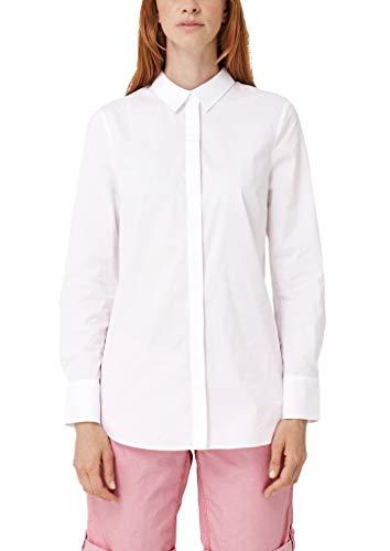 s.Oliver Damen 04.899.11.5355 Bluse, White, (Herstellergröße: 46)