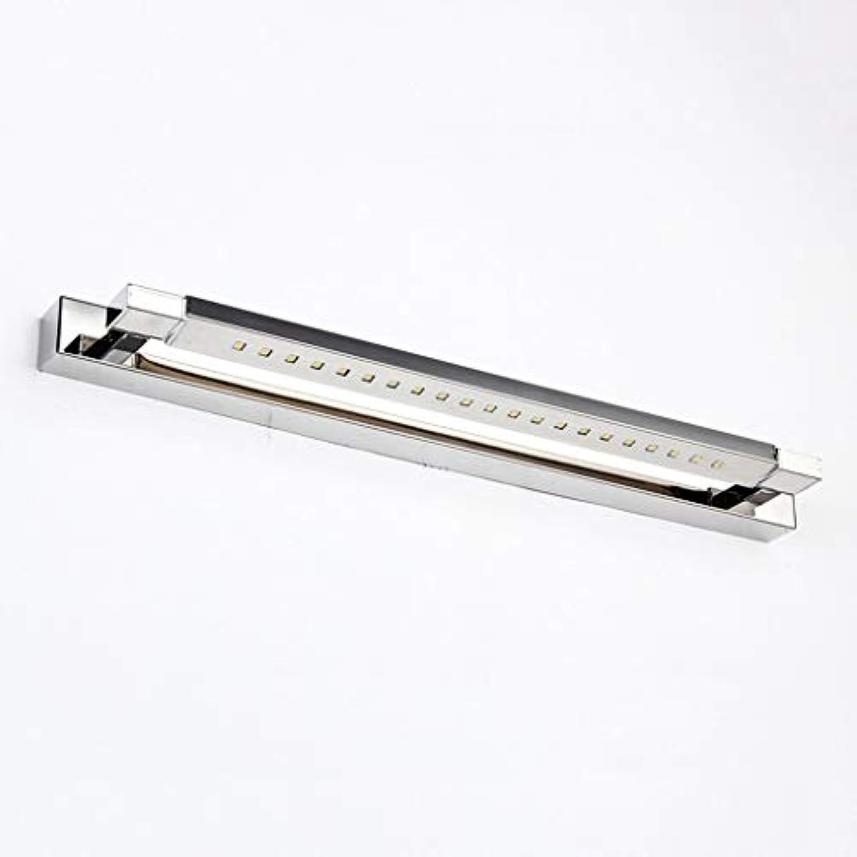 ZTMN LED-Spiegel Frontleuchten Moderne minimalistische Wandleuchte Kommode Spiegel Licht Badezimmerbeleuchtung (Farbe  warmes Licht-47cm)