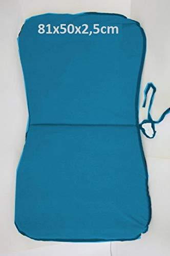 Euronovita' STC1251 Monobloc Cushion, Blue