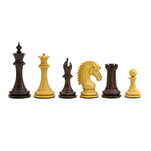 The Regency Chess Company Il Grande Sheffield Cavaliere Palissandro Pezzi 10.8cm