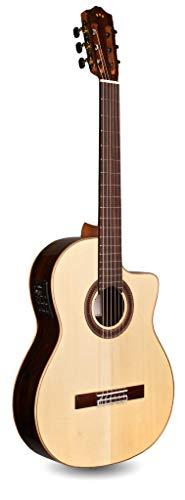 Cordoba GK Studio Limited Cutaway Flamenco Acoustic-Electric Nylon String Guitar, Iberia Series